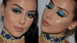 arab inspired makeup festival makeup tutorial