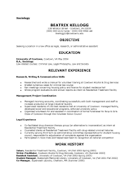 10 Best Images Of Sociology Resume Examples Sociology Student