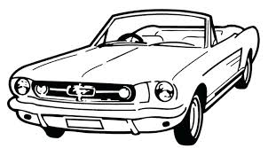 ford mustang colouring pictures free coloring pages mustang car coloring pages mustang coloring page