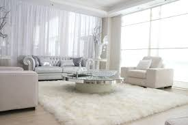 furry rug big size rectangle white furry rug white big fur area rug white leather modern