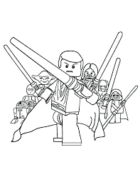 Lego Star Wars Coloring Pages Star Wars Coloring Sheets Coloring