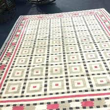 vintage cotton rug absolutely gorgeous dhurrie rugs india