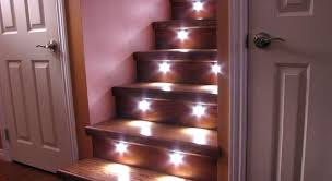 in stair lighting. Automatic Stair Led Lighting Ideas In A