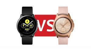 Android Watch Comparison Chart Samsung Galaxy Watch Active Vs Samsung Galaxy Watch Which