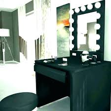 used vanity table lighted vanity table black lighted vanity black makeup desk makeup desk and mirror