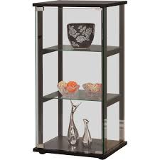 Metal Glass Display Cabinet Zipcode Design Alvin Curio Cabinet Reviews Wayfair