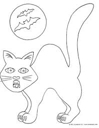 Small Picture Halloween Cat Free Halloween Coloring Pages to Print and Color