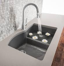 Blanco 440215 Diamond DoubleBasin DropIn Or Undermount Granite Blanco Undermount Kitchen Sink