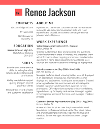 Gallery Of Sample Resumes 2017