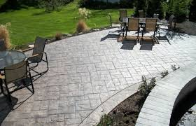 home elements and style medium size amazing concrete patio designs best cement ideas fire pit stamped