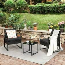 3 piece patio set outdoor patio