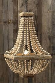 wooden bead chandelier amelia indoor outdoor wood bead chandelier for wooden bead chandelier metal and