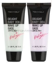 tonymoly delight baby doll make up base spf15 pa 30ml