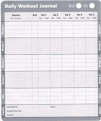 Workout Log Sheets Unique Printable Exercise Log Free Printable Workout Log Sheets Fitness
