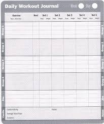 Workout Log Sheets Unique Printable Exercise Log Free Printable Workout Log Sheets Fitness