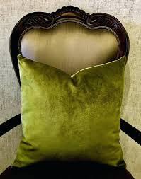 olive green pillows. Green Velvet Throw Pillows Olive .