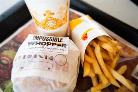 Burger King Protein Chart Burger King Has A Meatless Impossible Whopper Is It