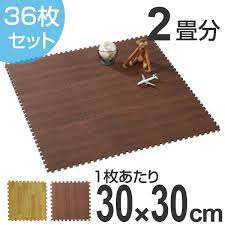 class 36 pieces of woody mat 2 tatami grain of wood joint mat floor mat