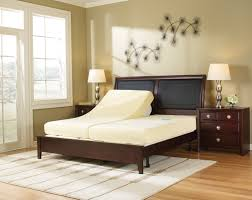 classic brown wooden curved headboard