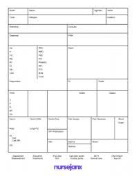 Report Sheet Template Nursejanx Store