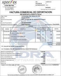 Formato De Factura De Exportacion Formato De Factura De Exportacion Magdalene Project Org