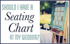 Seating Chart For Small Wedding Should You Have A Seating Chart At Your Wedding