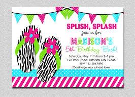 splish splash pool party invitation st birthday pool party pool party invitation boys or girls 128270zoom