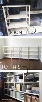office shelves ikea. IKEA Hack: IVAR Home Office Shelves - Landeelu.com Ikea S