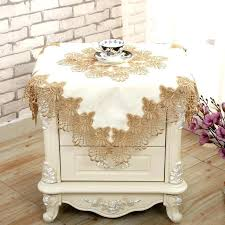 small table cloth bedside table cloth cover simple small square towel side round tablecloth small white
