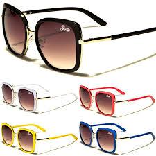 Square Designer Sunglasses Oversized Big Vintage Square Women Giselle Designer