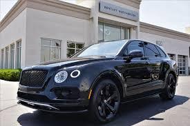 New 2018 Bentley Bentayga Black Edition - Northbrook IL - Bentley ...