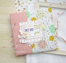 Baby Photo Album Books Baby Memory Book Girl Baby Album Personalized Baby Book Baby Photo