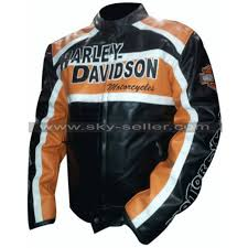 105th years harley davidson motorcycle leather jacket harley davidson biker vintage leather jacket