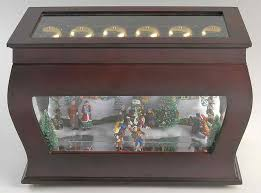 Animated Symphony Of Bells Musical Tabletop Decoration Extraordinary Mr Christmas Music Box Animated Symphony Of Bells Boxed By Mr