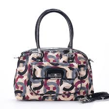 Coach Kristin Lock Signature Medium Multicolor Totes EXM · Purple Shoulder  BagsClassic ...