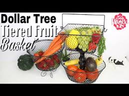 dollar tree diy fruit basket you