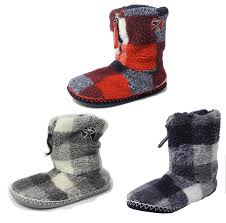 Mens Bedroom Athletics Slippers Mens Bedroom Athletics Sherpa Fleece Warm Fur Zipped Boots Bootie