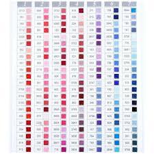 Dmc Color Chart For Diamond Painting 447 Color Rhinetones Dmc Diy 5d Diamond Painting
