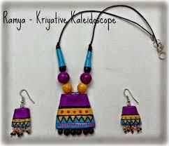 how to make terracotta necklace 17 inspiring design ideas kriya tive kaleidoscope diy terracotta jewellery making