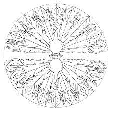 Kleurplaat Dieren Kleurplaat Mandala Animaatjesnl