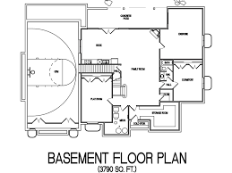 House Plans With Basketball Court