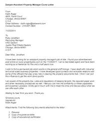 Property Manager Cover Letter No Experience Office Manager Cover ...