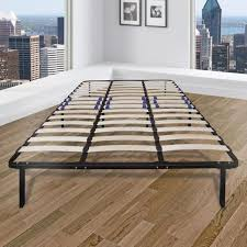Rest Rite Eastern King Metal and Wood Bed Frame MFPRRWSPFEK - The ...