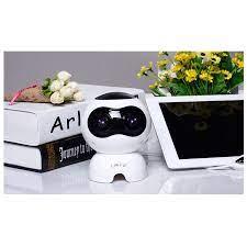 Loa vi tính laptop để bàn loa nghe nhạc mini S100 hình Robot âm thanh siêu  trầm sống động hàng nhập khẩu - Loa Vi Tính Thương hiệu LP