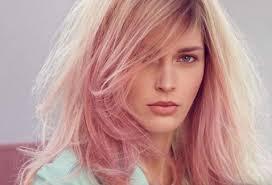 Розовые оттенки окрашивания волос