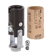short leviton keyless candelabra sockets