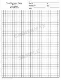 2625 Generic Graph Paper 1 Pt
