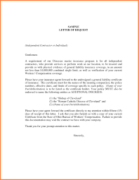 Examples Of Executive Resumes Sample Letter Requesting Certificate