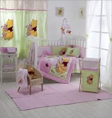 bedding cribs monsters inc seahorse crib skirt neutral round nature imagination purple and grey sets polka