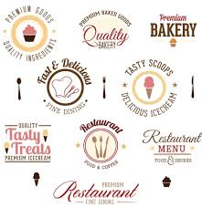 design a logo online and design logo fine dining logo design set vector logo design online